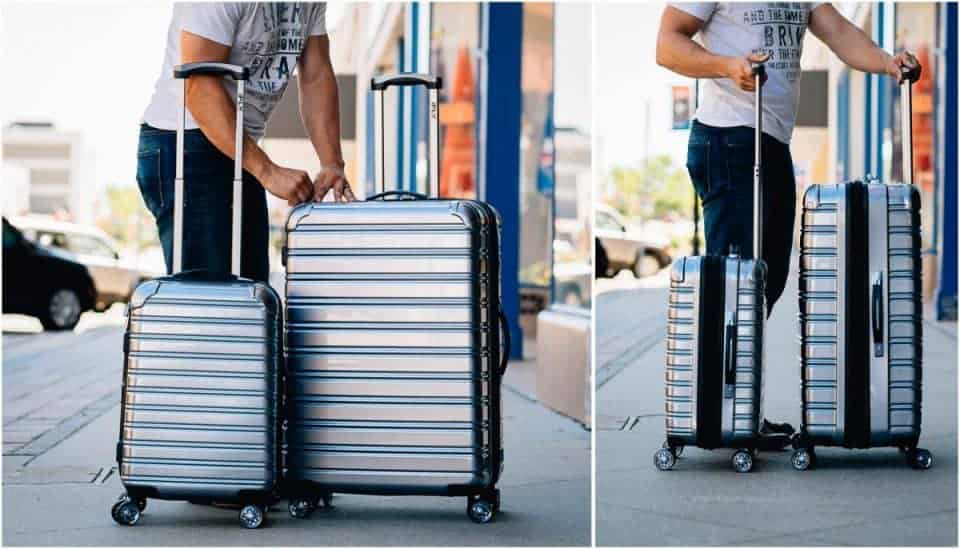 iFly Luggage Collage