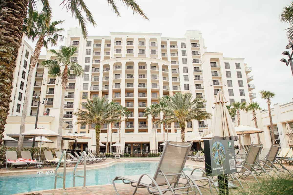 Orlando Family Vacation  Las Palmeras By Hilton Grand