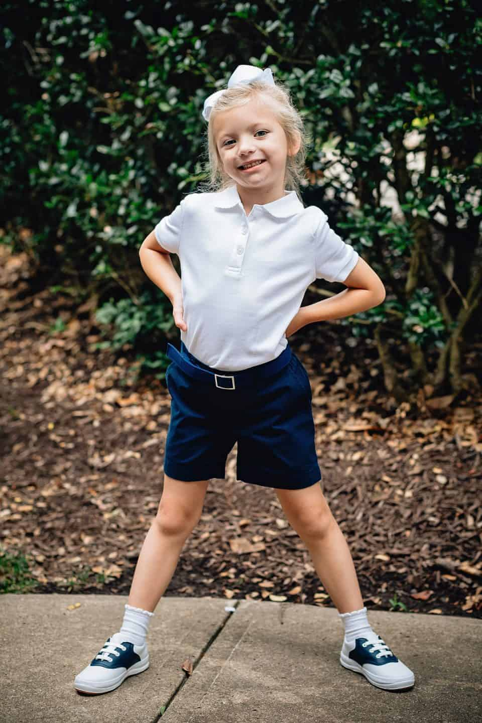 Myself Belts Classic Navy Back to School Girl