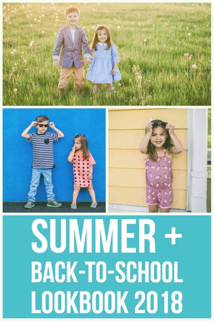 Summer & Back to school Lookbook 2018