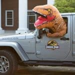 Back To School Photos: A Little Dino Heads To School