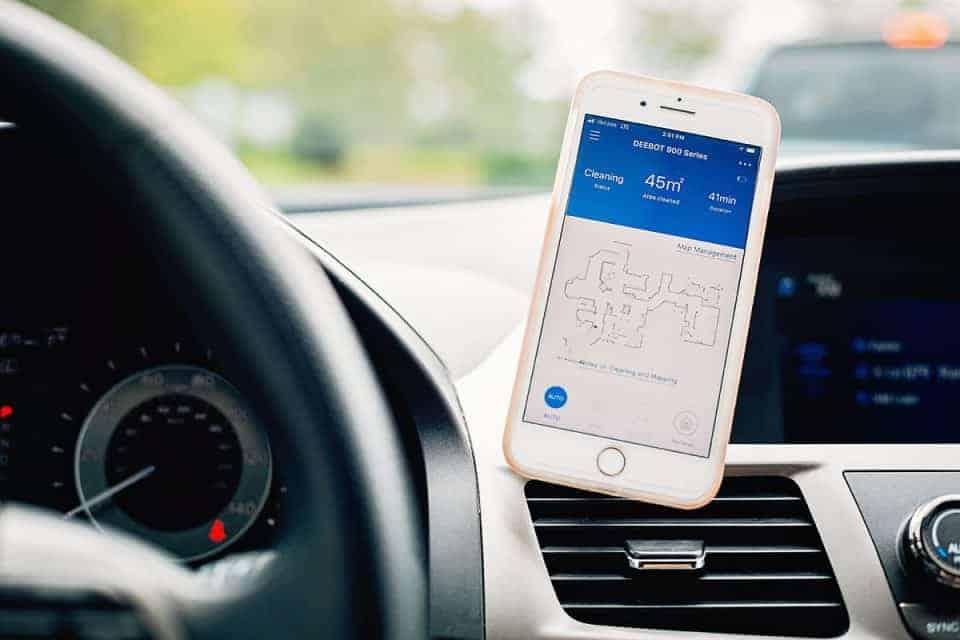 Deebot 900 App in Carpool RS