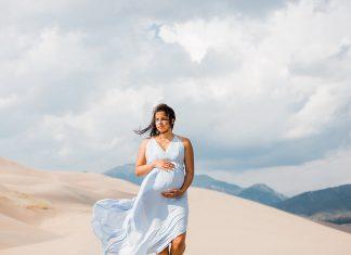 Maternity Photo Inspiration: Sand Dunes Photos