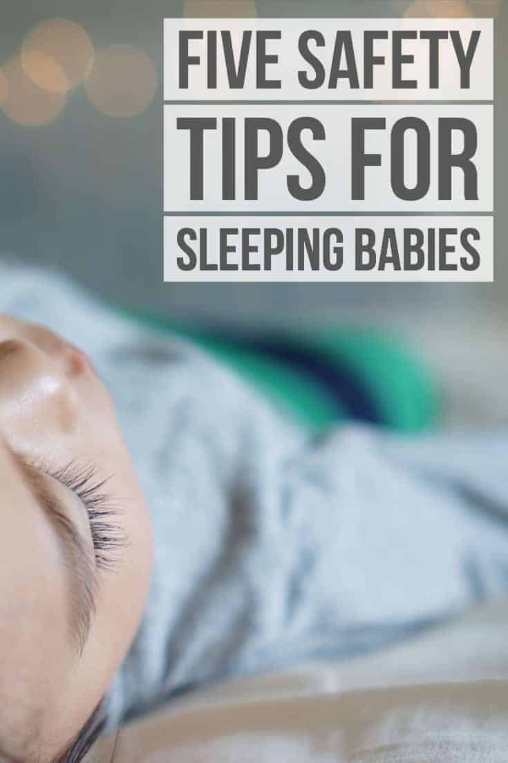 Safety tips for sleeping babies