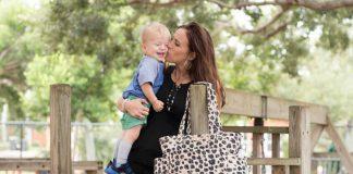 The Perfect Diaper Bag: Twelvelittle Carry Love Tote Leopard