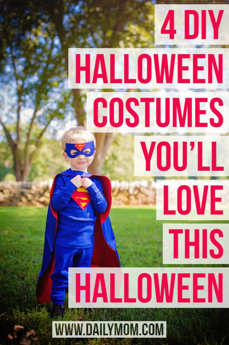 4 DIY Halloween Costumes You'll Love this Halloween