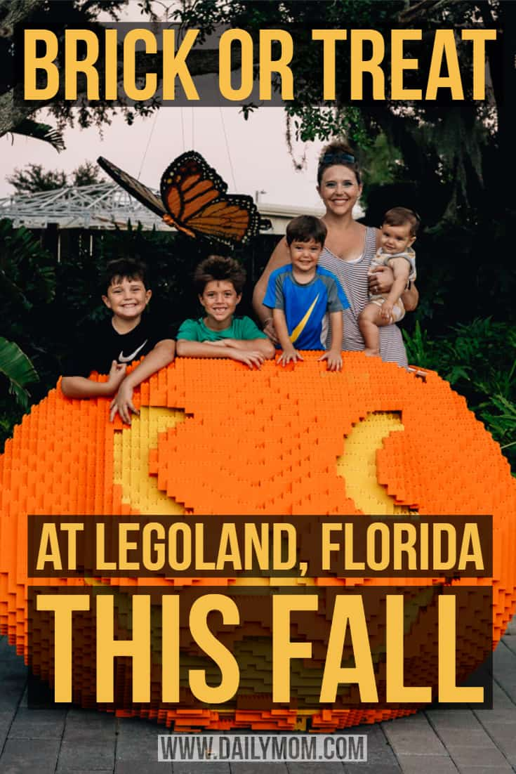Daily Mom parents portal legoland halloween brick or treat