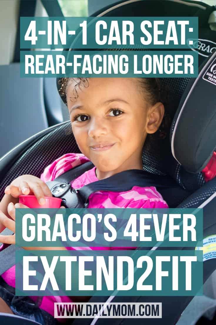 rear-facing car seat by Graco