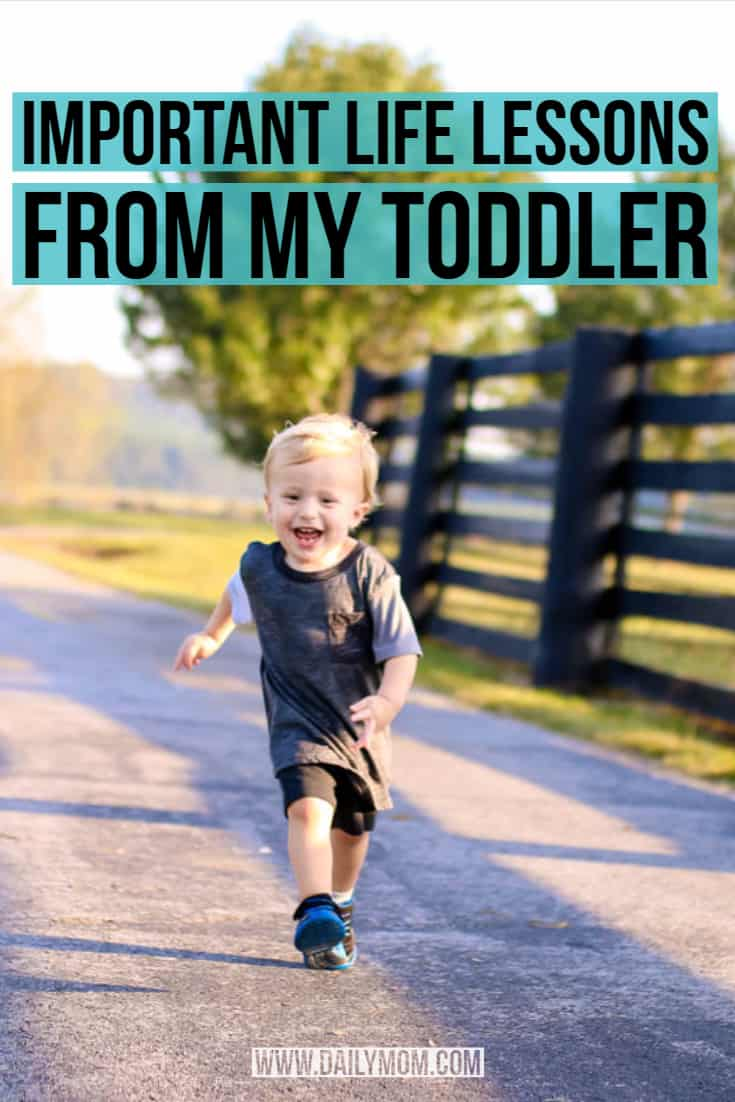 Important Toddler Life Lessons