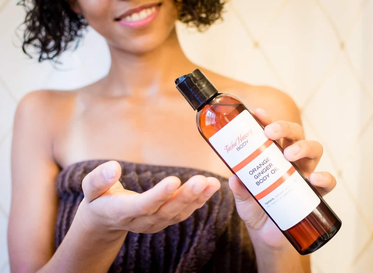 Tasha Hussy Body Oil