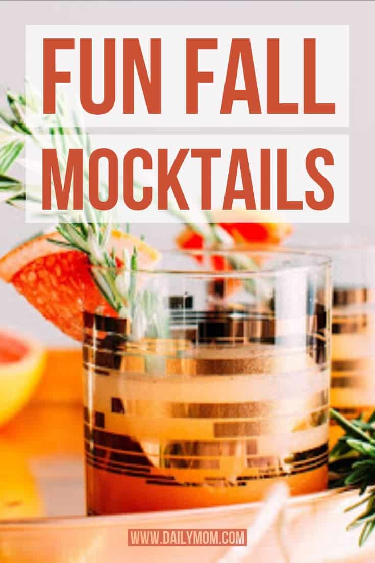 fun fall mocktails