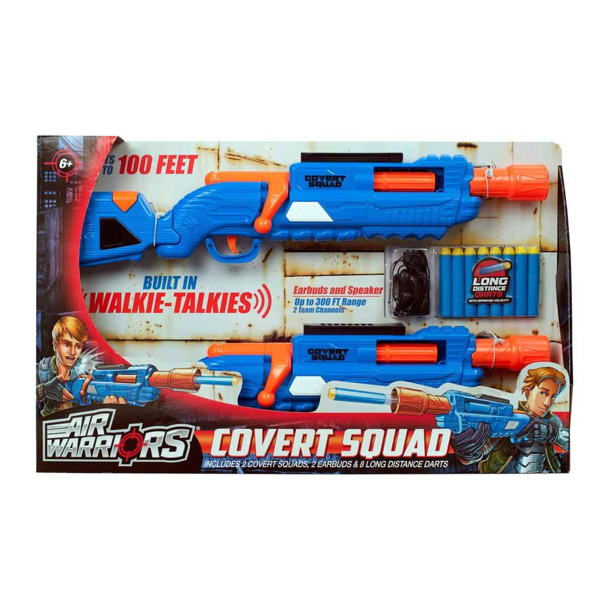 Buzz Bee Toys Air Warriors Covert Squad dart blasters daily mom parent portal unique gifts for kids