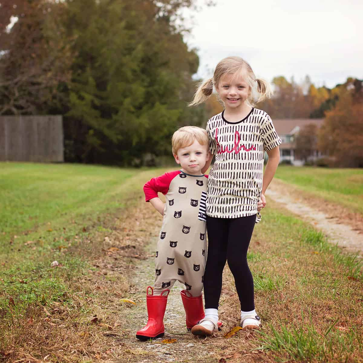 Daily Mom parents portal fall clothing 2018 Rags to Raches Fall Bears Duh