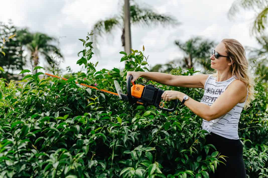 5 Power Tools Every Woman Needs For Their Yard