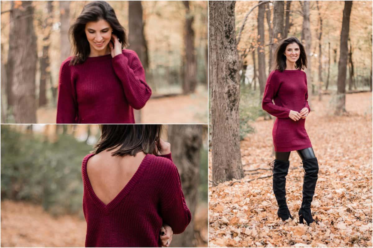 Lulus Sweater Dress 2