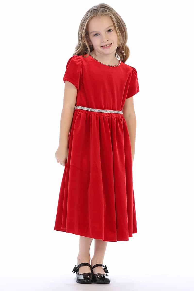 Pink Princess Red Dress