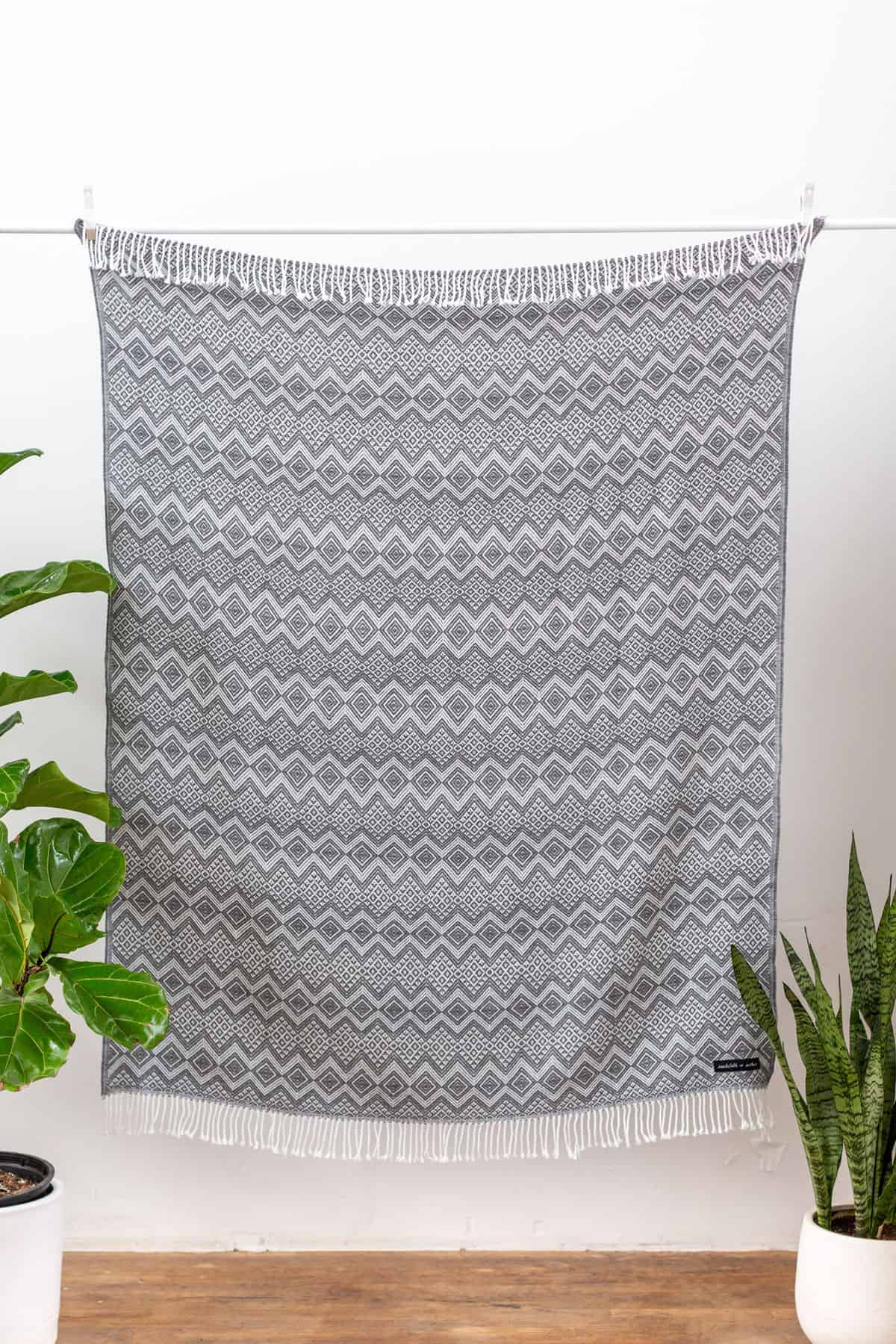 Giveaway: Grey Royale Blanket from SackCloths and Ashes