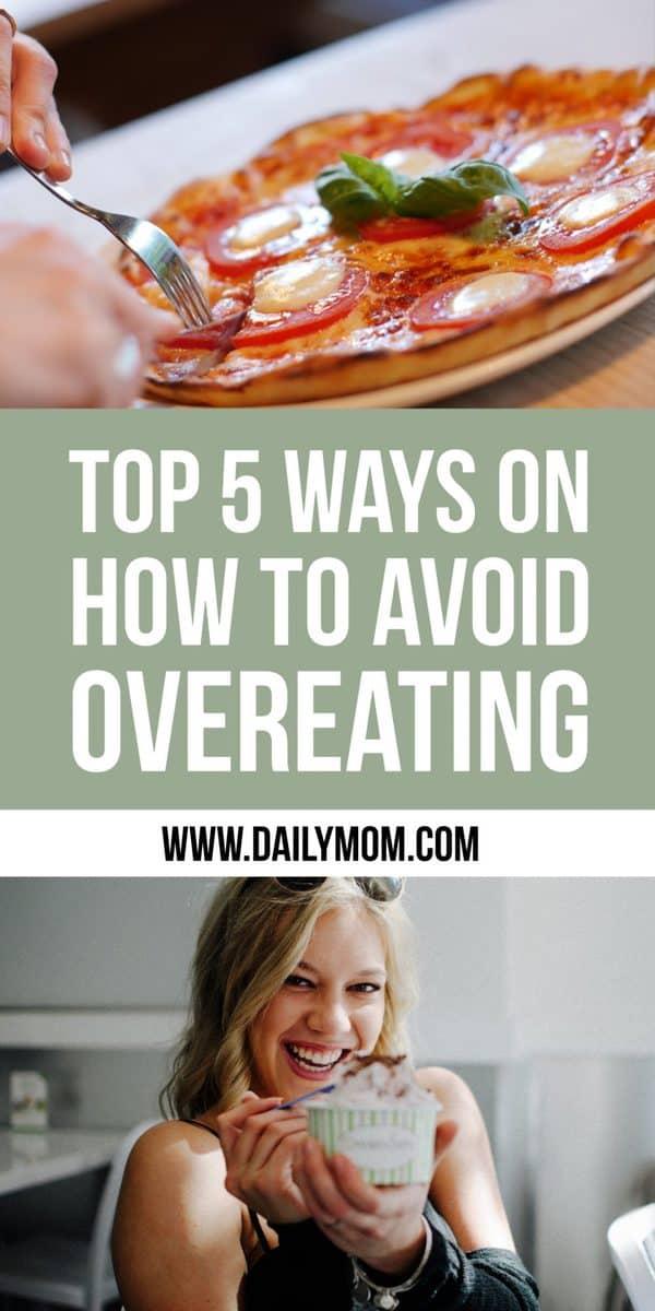 avoid over eating
