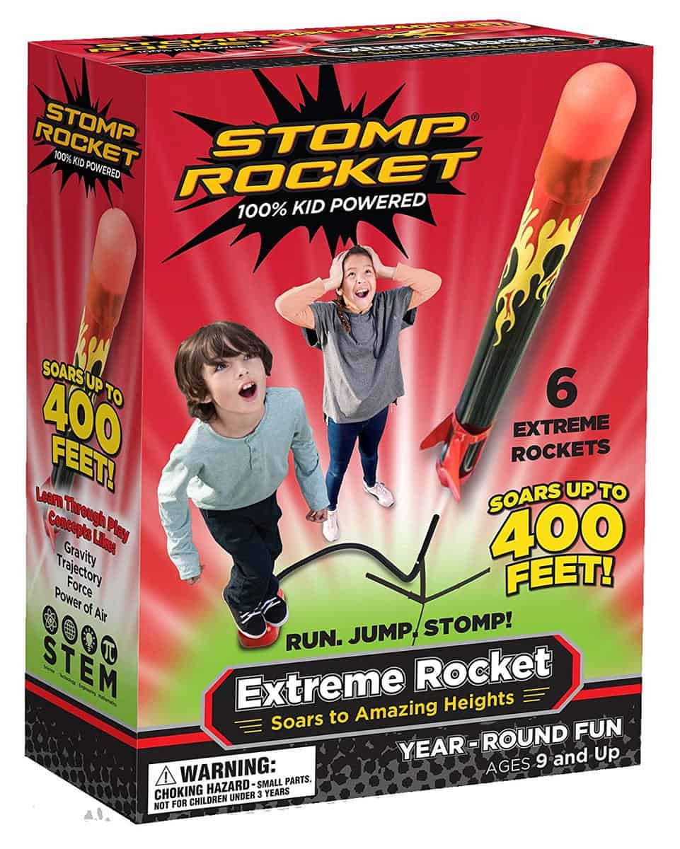 Stomp Rocket Daily Mom parents portal educational gifts for kids