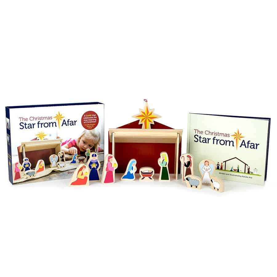 the christmas star from afar 2018 holiday decor