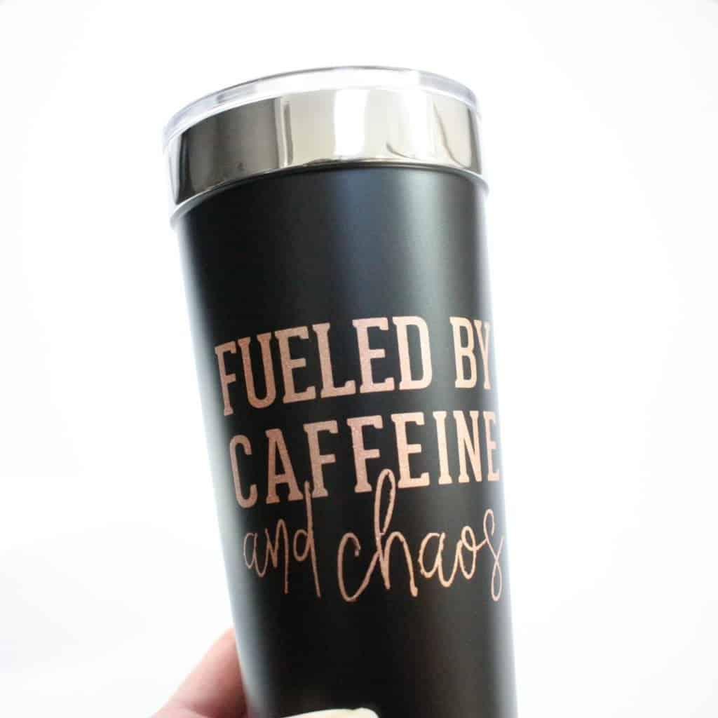 Caffeine and Chaos Tumbler 1024x1024