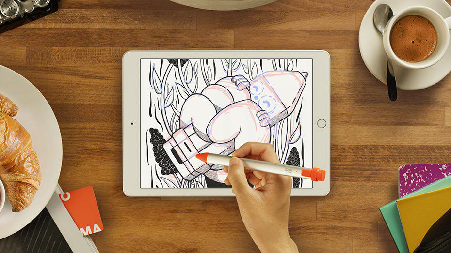 Logitech Crayon for ipad daily mom parent portal unique gifts for kids