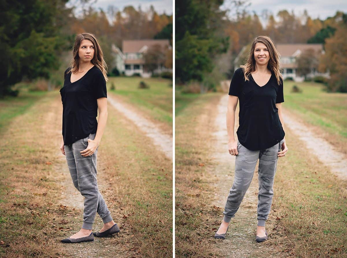 Daily Mom parents portal zsupply black tee and sweats 2