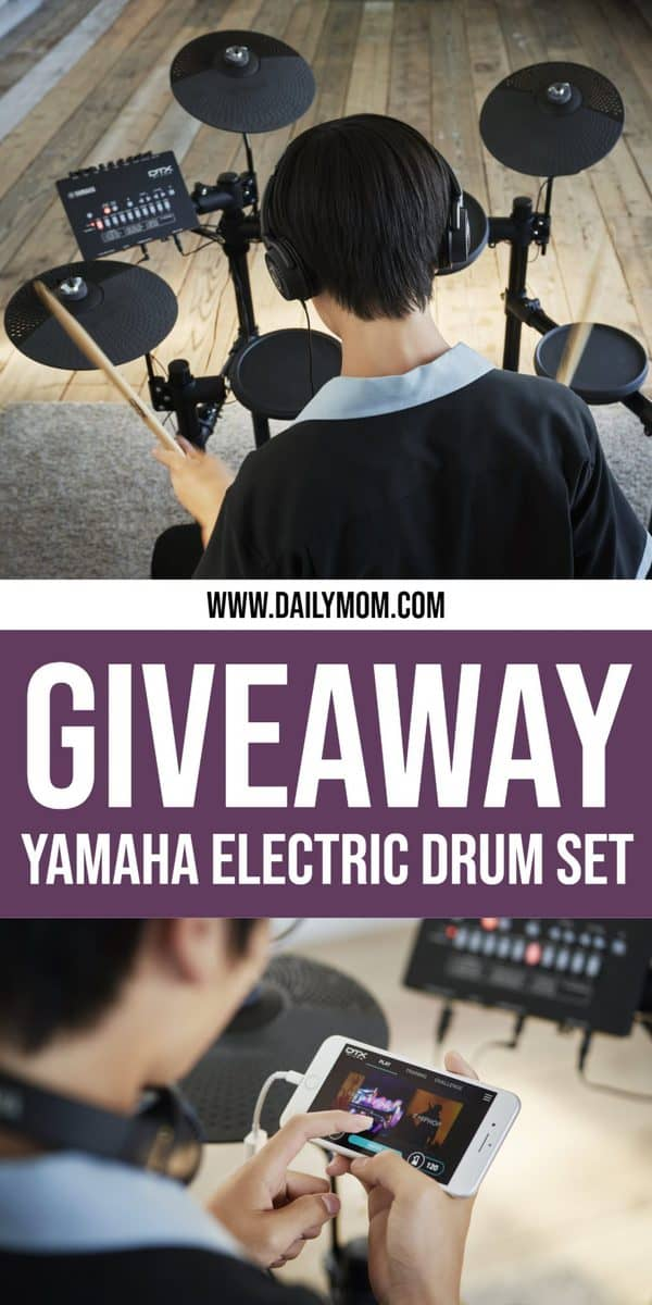 YAMAHA DRUM KIT GIVEAWAY ON DAILY MOM