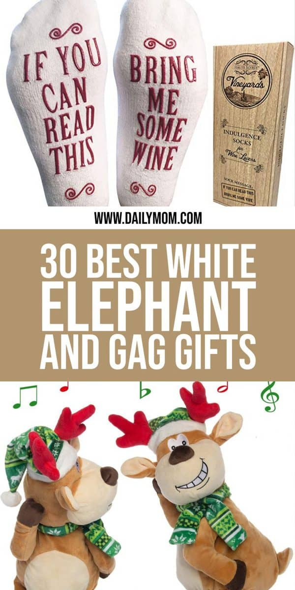 dailymom parent portal white elephant gifts pin