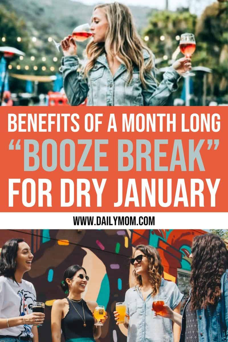"Benefits Of A Month Long ""booze Break"" For Dry January"