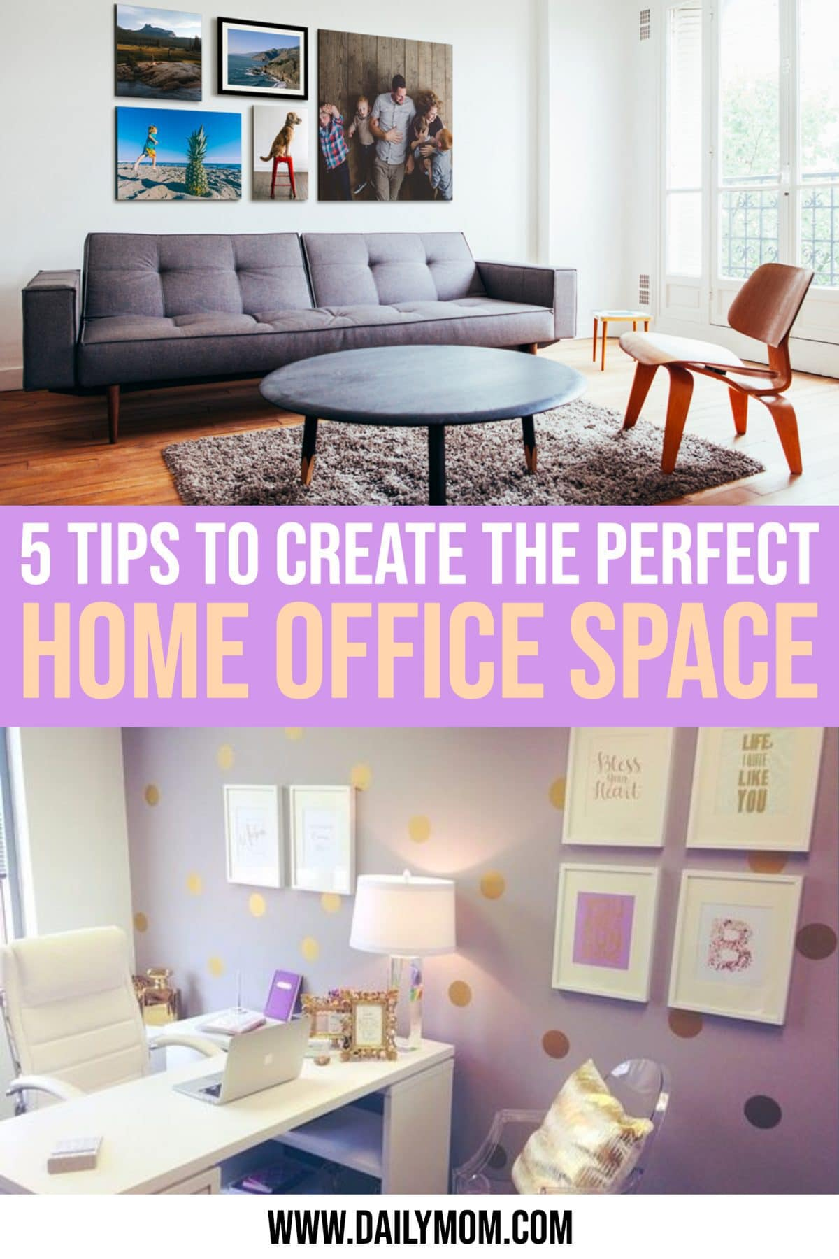Perfect Home Office Space Daily Mom Parent Portal