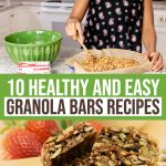 10 Healthy Granola Bars Recipes For Moms On The Go 1 Daily Mom Parents Portal