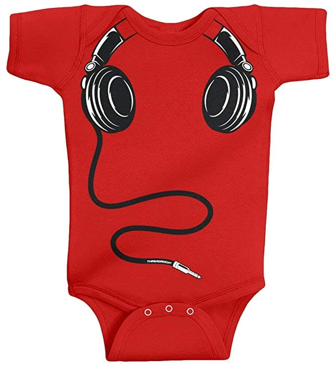 daily-mom-parent-portal25 Cool Onesies Your Baby Must Wear In 2019 -headphones