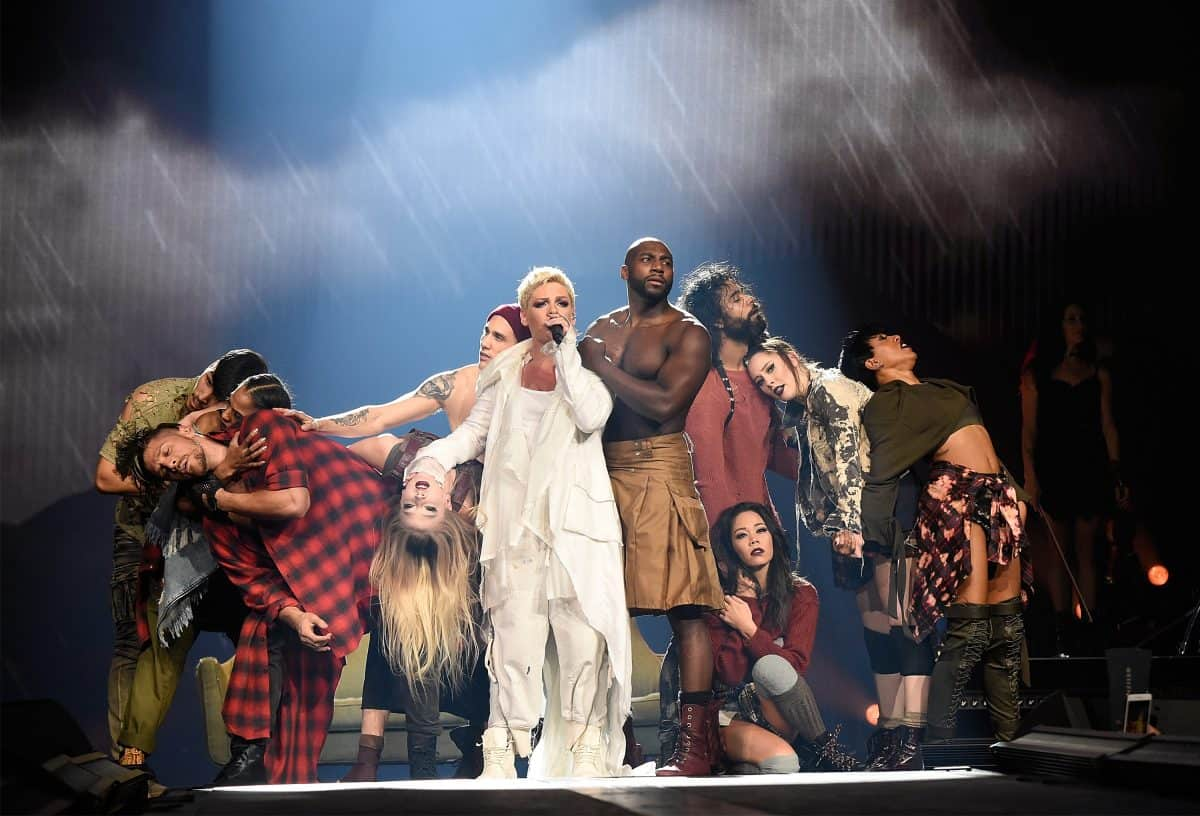 Pink's Beautiful Trauma Tour By Dm Concert Series Daily Mom Parent Portal