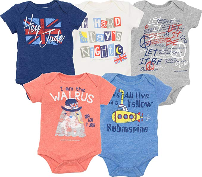 daily-mom-parent-portal 25 Cool Onesies Your Baby Must Wear In 2019-beatles