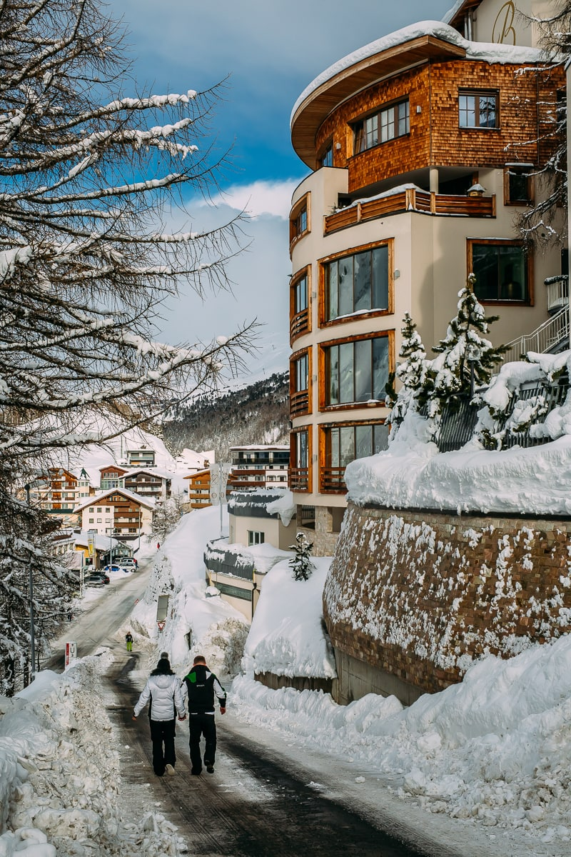 Things To Do On A Ski Holiday In Obergurgl, Oetztal