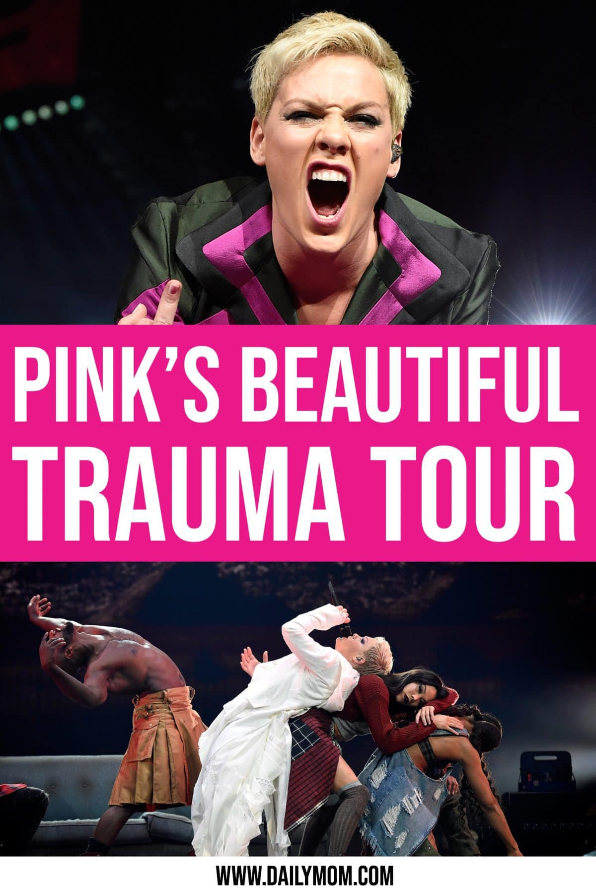 Pink's Beautiful Trauma Tour By Dm Concert Series