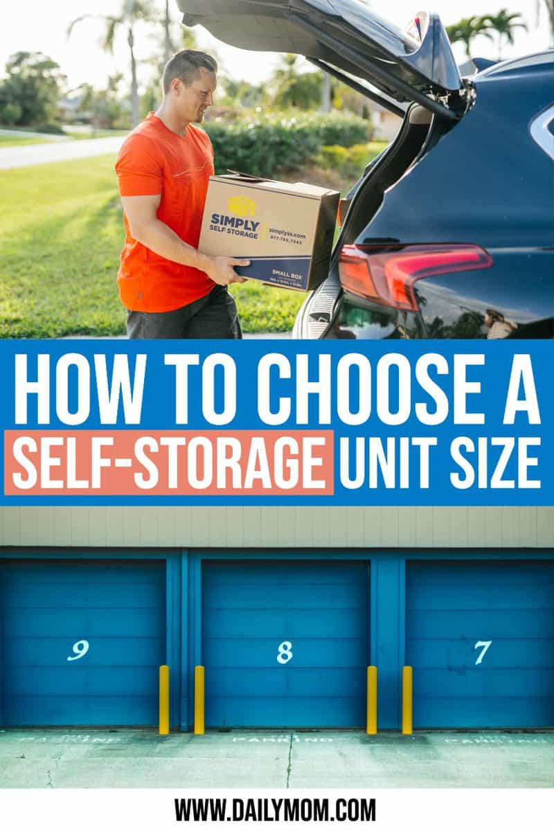 How To Choose A Self Storage Unit Size