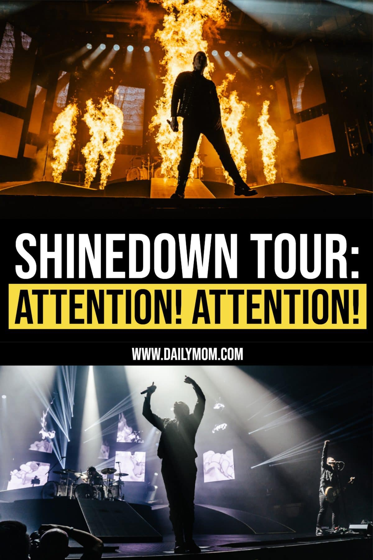 Shinedown Attention! Attention! Tour By Dm Concert Series