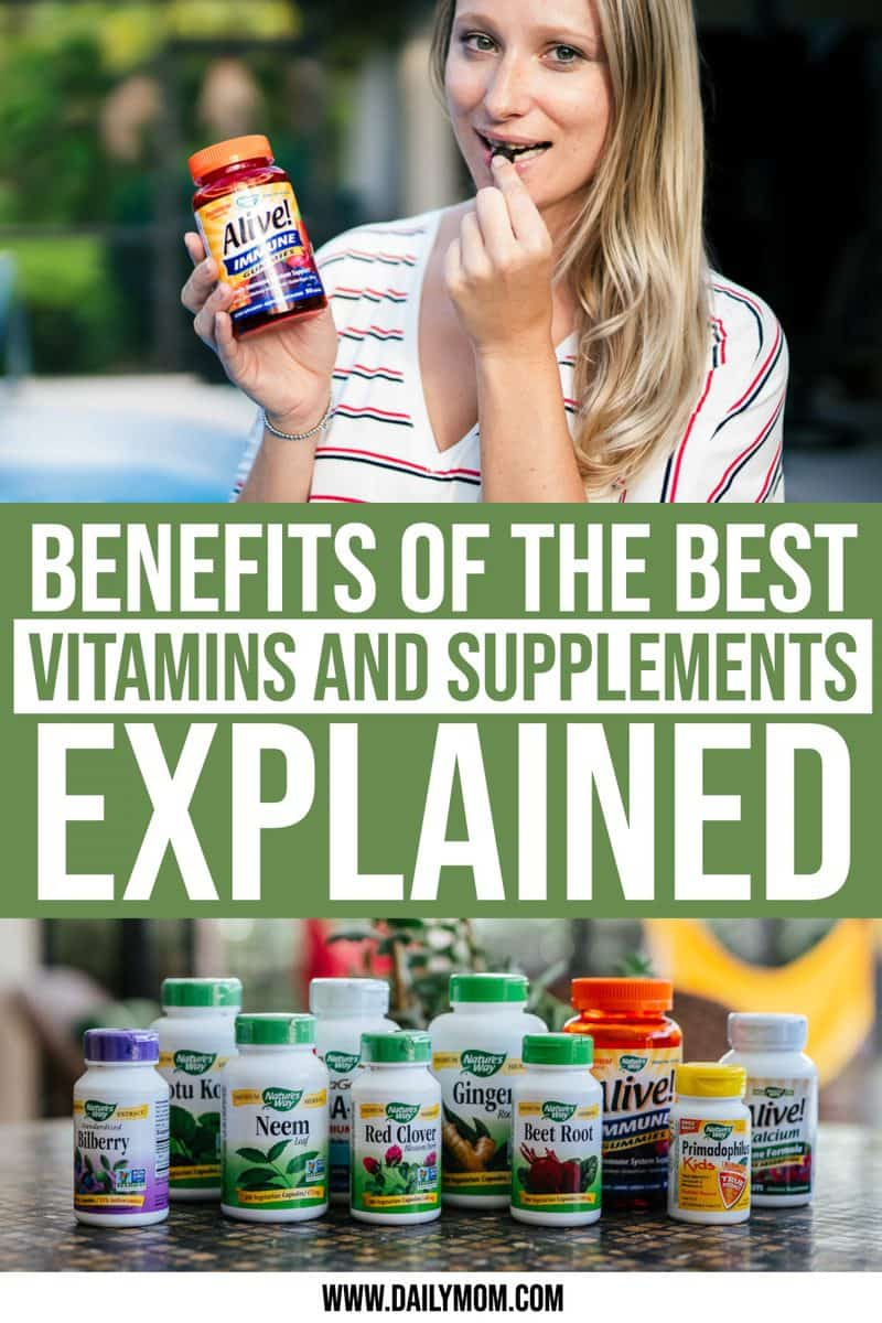 Benefits Of 32 Of Best Vitamins And Supplements Explained