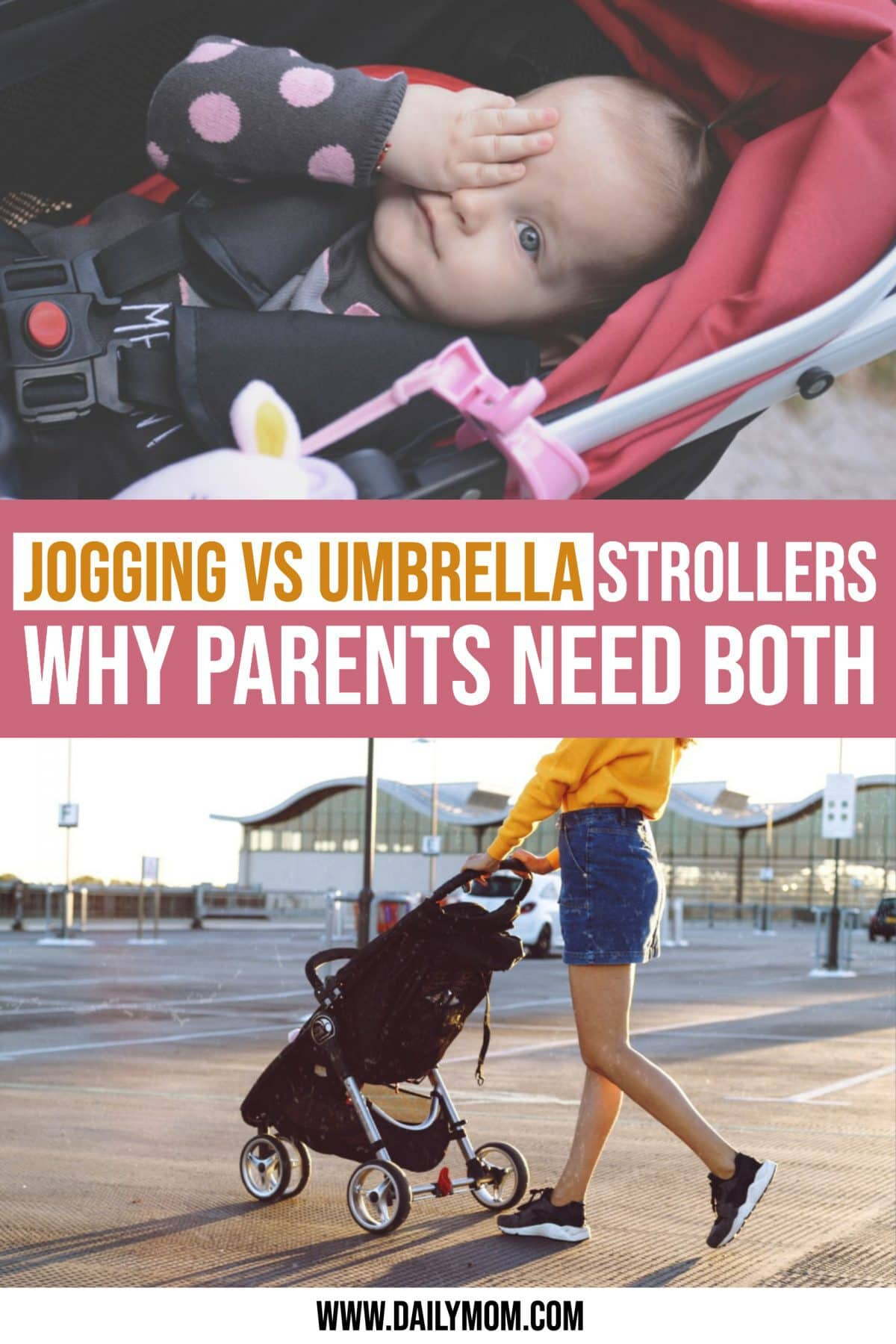 daily-mom-parent-portal Why Parents Need A Jogging Stroller And An Umbrella Stroller-pinterest