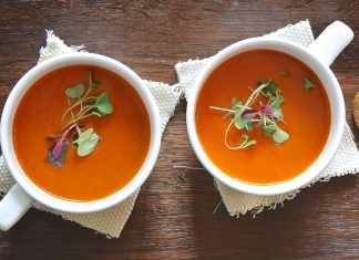 Classic Creamy Tomato Soup Recipe From Sweet Tomatoes Restaurant