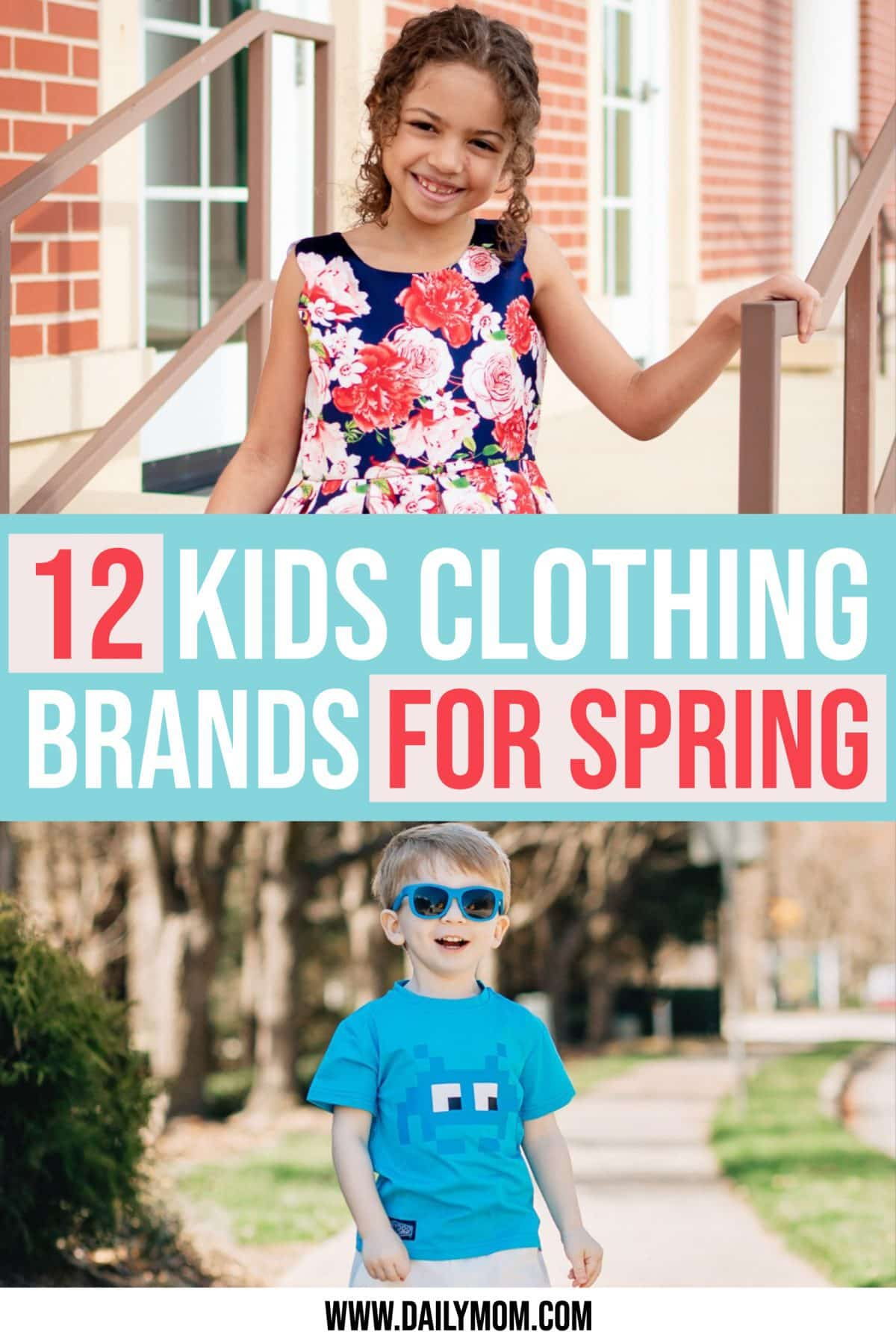 12 Spring Clothing Brands  For Kids