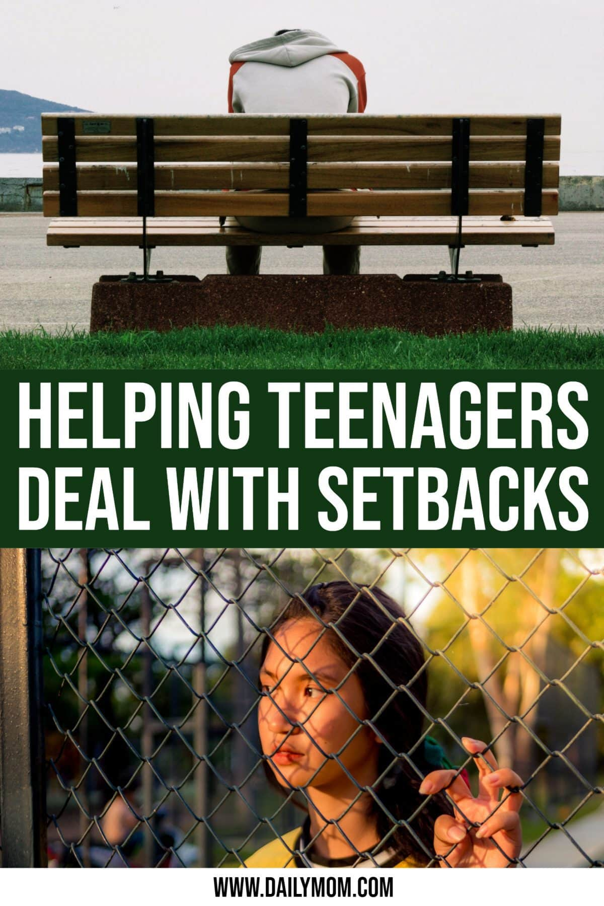 Helping teenagers deal with setbacks