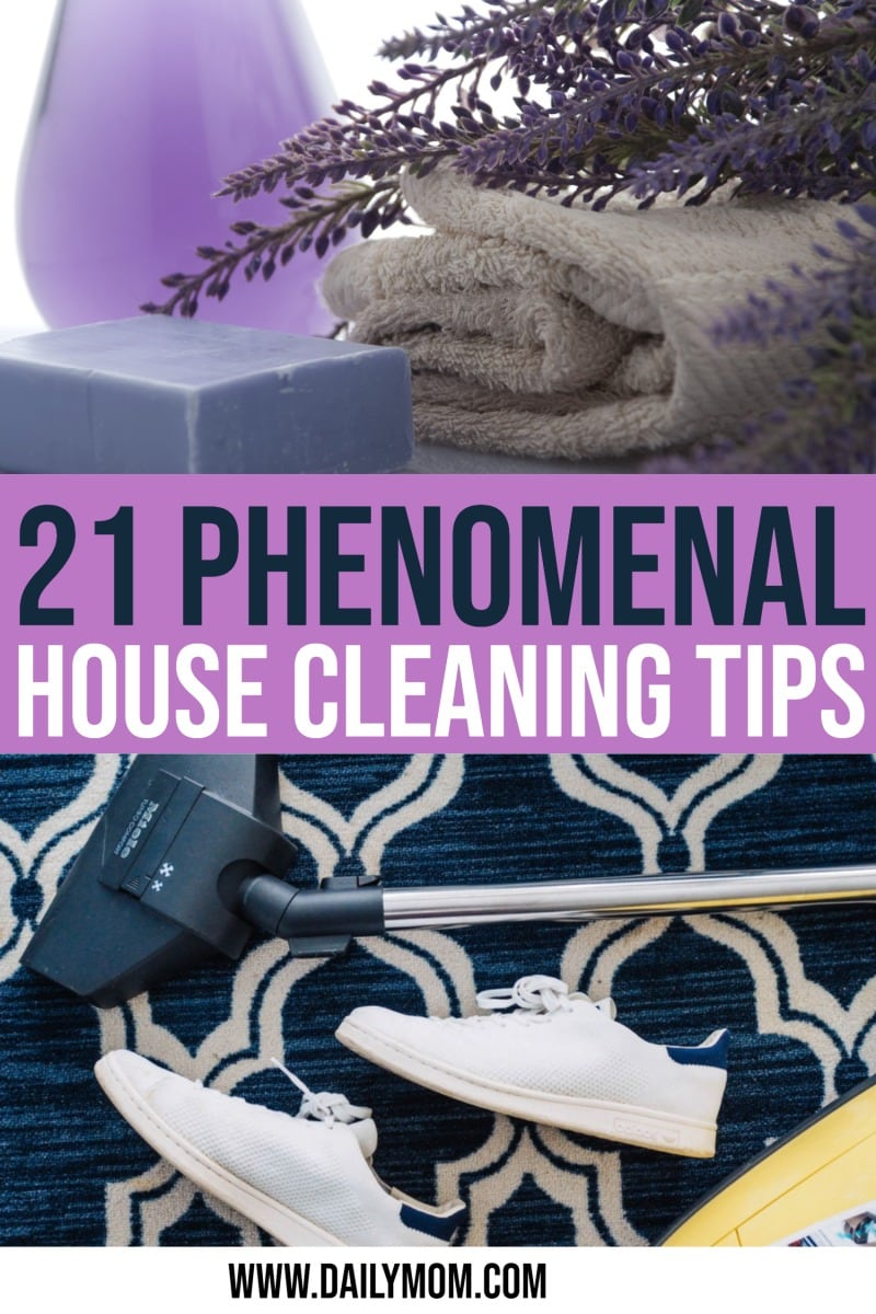 21 Phenomenal House Cleaning Tips