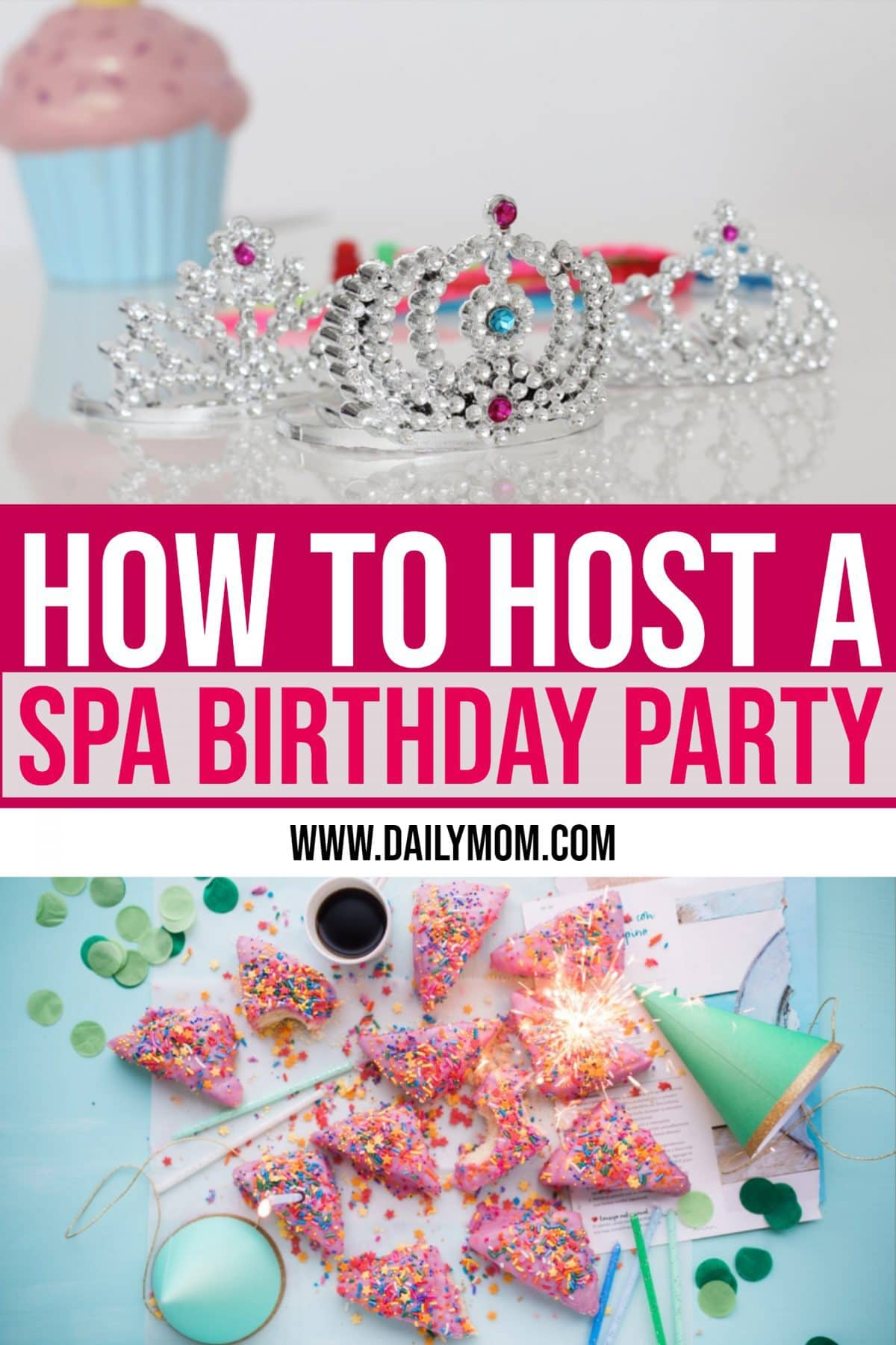 Daily Mom Parent Portal Spa Birthday Party