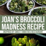 Joan's Broccoli Madness Recipe from Sweet Tomatoes Restaurant 1 Daily Mom Parents Portal