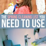 The Spring Cleaning List You Need to Use 1 Daily Mom Parents Portal