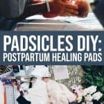How to Make Your Own Postpartum Padsicles 1 Daily Mom Parents Portal