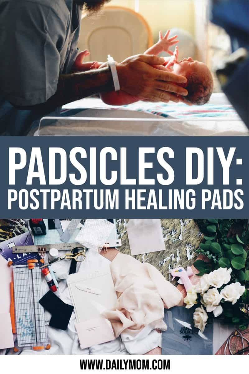 How To Make Your Own Postpartum Padsicles